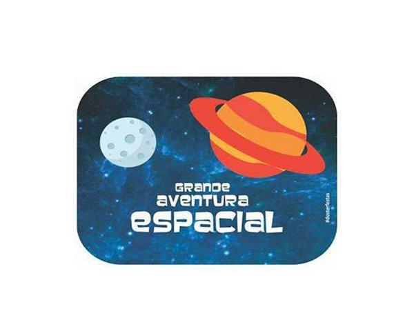 Mini Tampa Para Marmitinha Guloseimas - Astronauta 12 Unidades