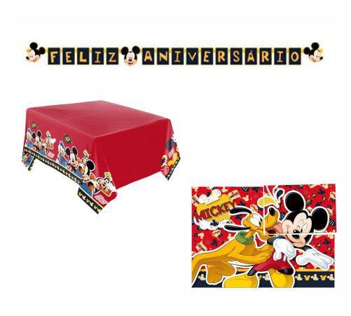 Kit Decoração de Festa - Mickey Mouse