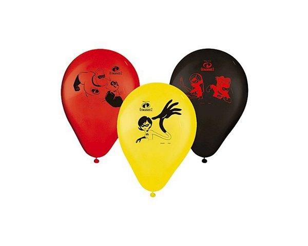 Balão Os Incríveis 2 - 25 Unidades