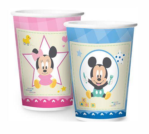 Copo Papel Baby Disney Chá Revelação - 08 Unidades
