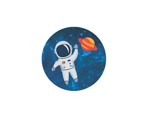 Adesivo 5x5 -  Astronauta 20 unidades