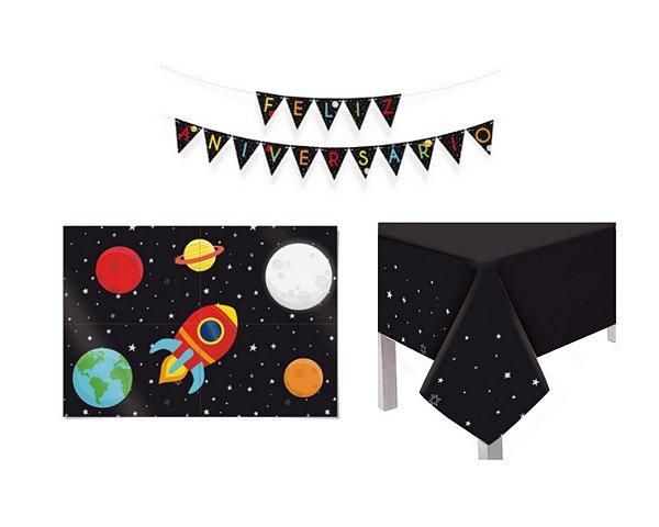 Kit Decoração de Festa - Astronauta 1
