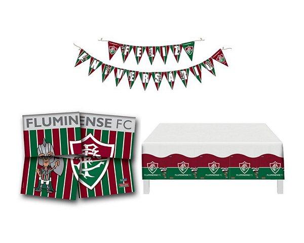 Kit Decoração de Festa - Fluminense