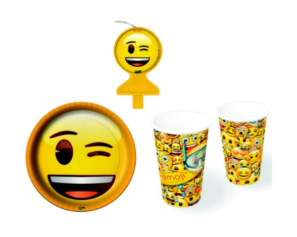 Kit Festa Basic - Emoji