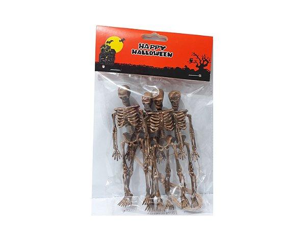 Kit Esqueleto - Halloween - 4 unidades