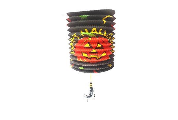Lanterna - Halloween Preta