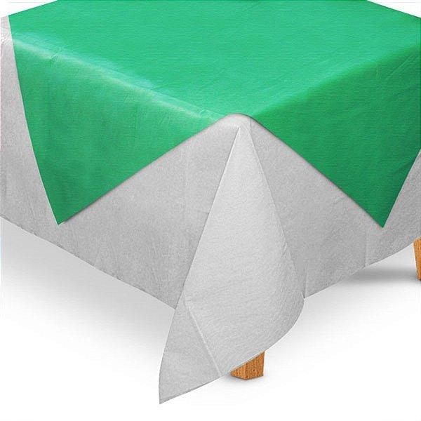Toalha de Mesa TNT Convidados Verde - 70x70