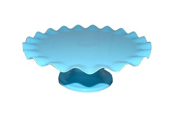 Mini Boleira - Azul Claro Ondulada -  21cm