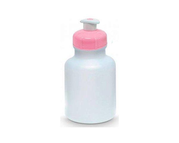 Garrafinha Squeeze tampa Rosa bebe- 300 ml