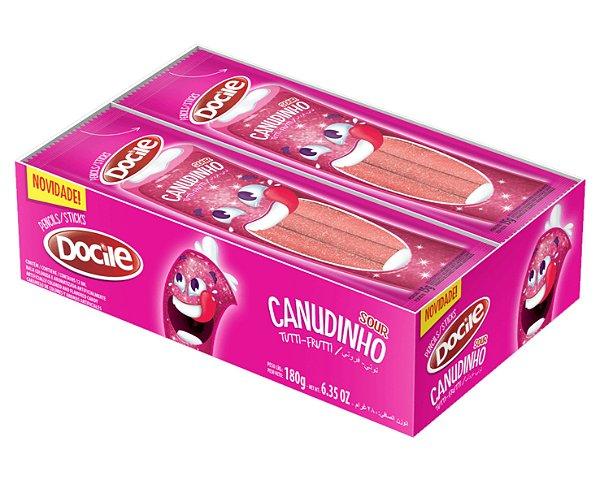 Canudinho Tutti-frutti Cítrico dp - Cx 12pc