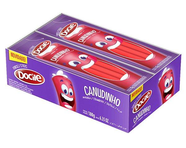 Canudinho Morango - Cx 12pc