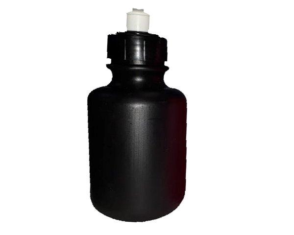 Garrafinha Squeeze Preta 300 ml