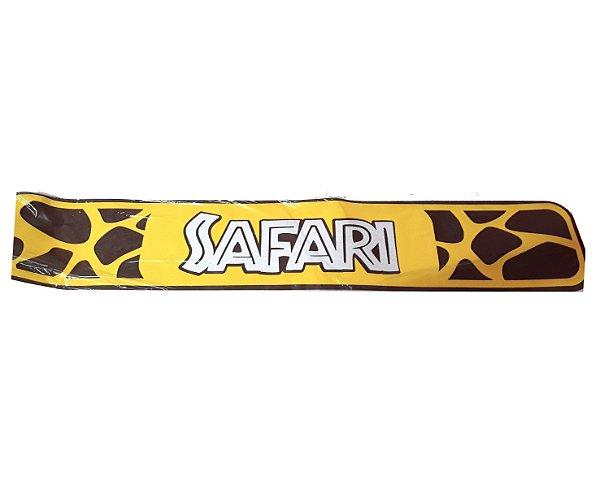 Faixa Decorativa - Parabéns Safari - Zebra