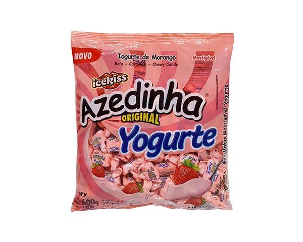 Bala Mastigável Azedinha Yogurte 600g - Ice Kiss