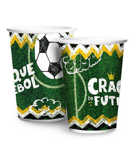 Futebol Copo 180ml - c/8