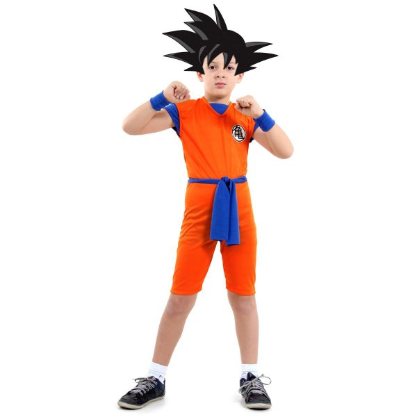 Fantasia Infantil - Dragon Ball Curto - M