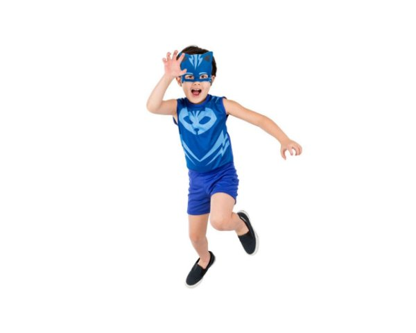 Fantasia Infantil - Pj Masks - Menino Gato - M