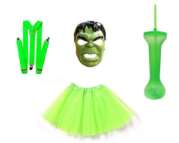 Fantasia de Carnaval Feminina - Hulk - Festas Mix - Nossa Alegria é ... 05282047a09