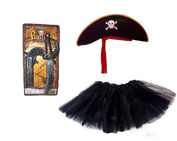 Fantasia Carnaval Feminina - Pirata