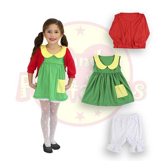 Fantasia Infantil Chiquinha -6 anos