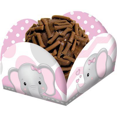 Porta Forminha Elefantinho Rosa -40 und