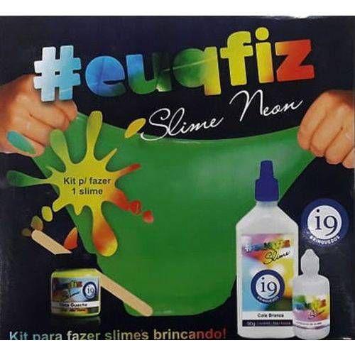 Kit para fazer 1 Slime Neon