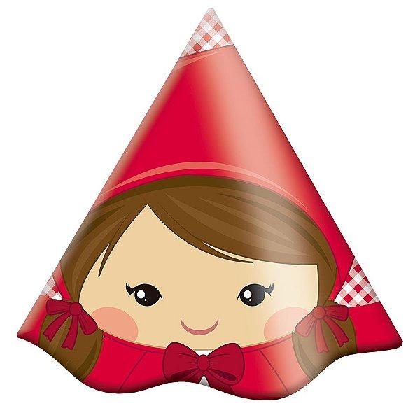 Chapéu de aniversário - Chapeuzinho Vermelho