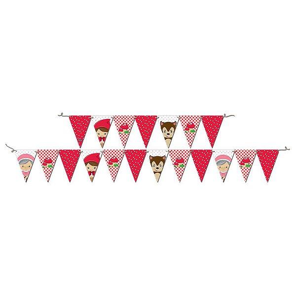 Faixa de Aniversário - Festa Chapeuzinho Vermelho