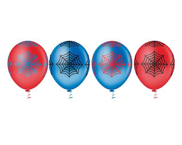 Balões Estampados N 10 - Teia- 25 und- Pic Pic