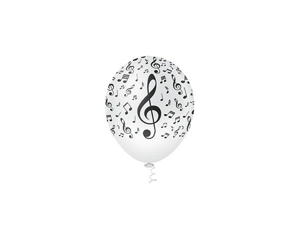 Balões Estampado N 10 - Nota Musical 25 und- Pic Pic