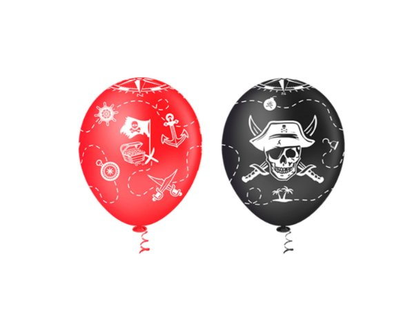 Balões Estampado N 10 - Pirata- 25 und- Pic Pic