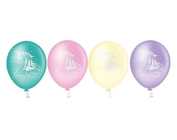 Balões Estampado N 10 - Unicórnio- 25 und- Pic Pic