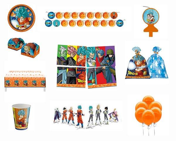 Kit Festa 8 Pessoas - Dragon Ball Z