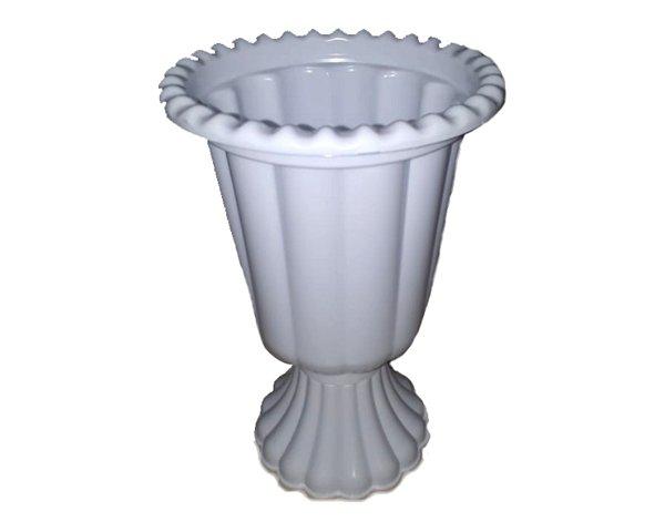 Vaso Plástico Grego - Branco