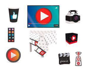 Kit Festa 8 Pessoas - Youtuber