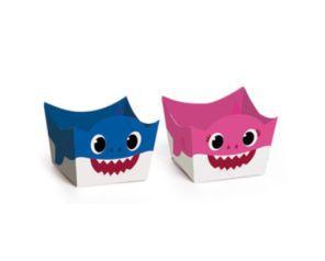 Porta Forminha - Baby Shark - 24 Unidades