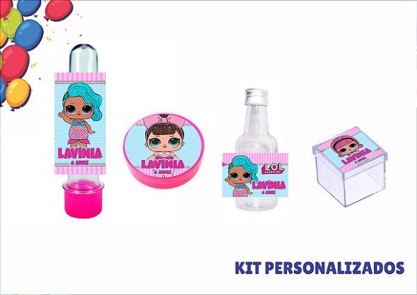 kit personalizado - lol surprise- 40 itens