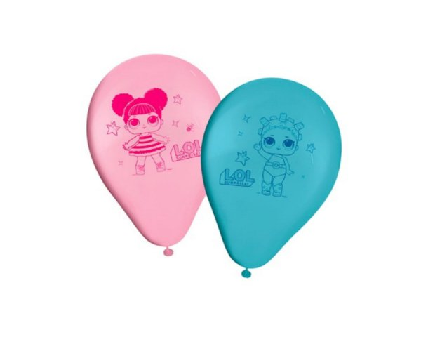 balão látex 9 Polegadas - LOL Surprise
