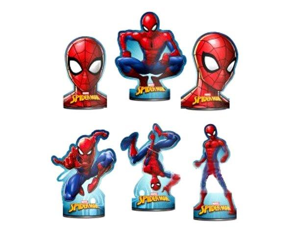 Decoração de Mesa - Homem Aranha