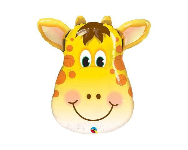 Balão Metalizado - Girafa - 14 Polegadas