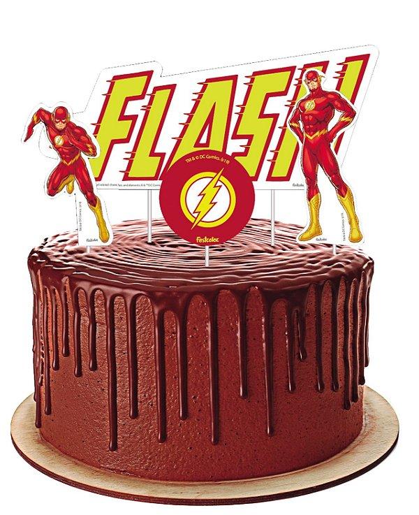Topo de Bolo - Flash