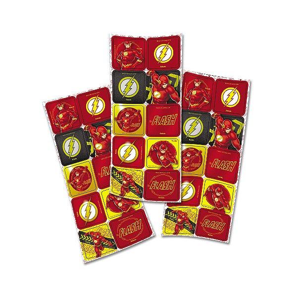 Adesivo Quadrado - Flash - 03 Cartelas