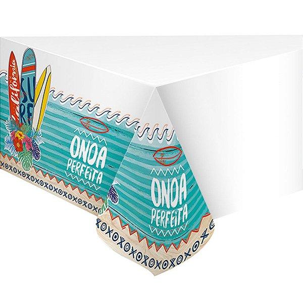 Toalha de Mesa Plástica - Festa Surf