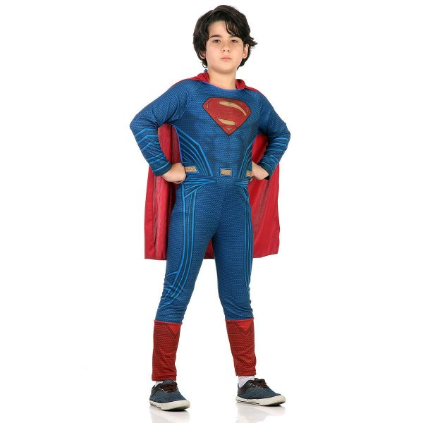 Fantasia - Super Homem Std - Infantil - Tamanho M