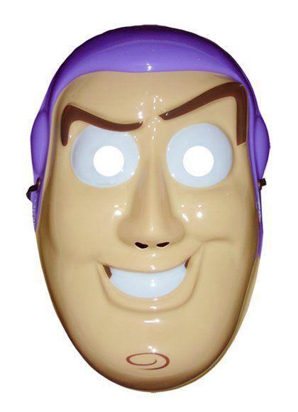 Máscara Plástico Rosto Inteiro -Buzz Toy Story