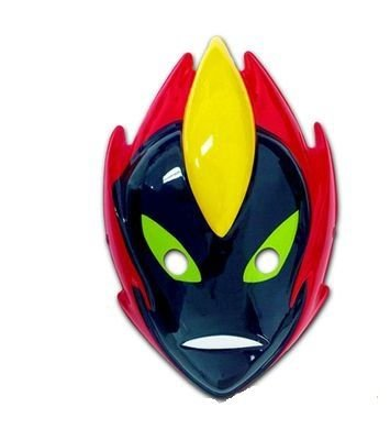 Máscara Plástica - Rosto Inteiro Fogo Selvagem