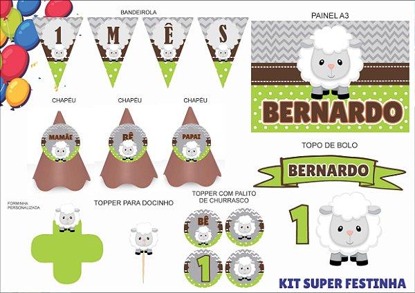 Kit Mensário - Carneiro - 7 itens