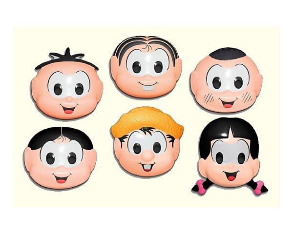 Máscaras Plástica - Turma da Mônica
