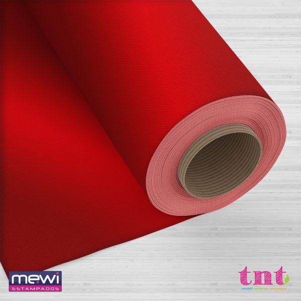 TNT Metalizado Laminado - Vermelho - 05 Metros