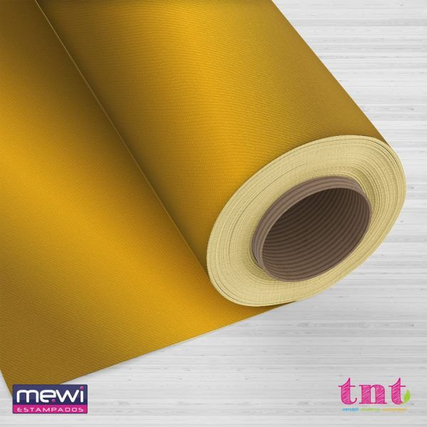 TNT Metalizado Laminado - Ouro - 05 Metros